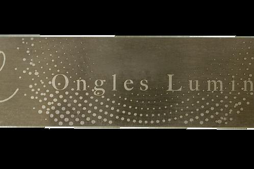 Lime en métal Ongles Lumineux