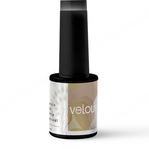 Velour / Vernis mat - Matte top coat
