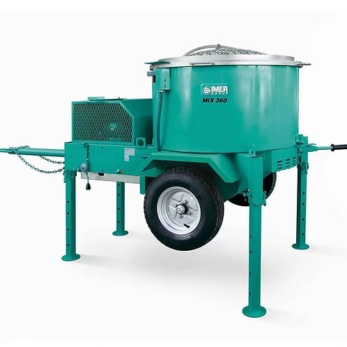 Imer Pan Shaft Mixers