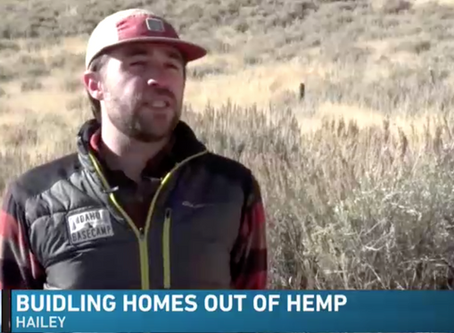 Sun Valley man builds homes with hemp