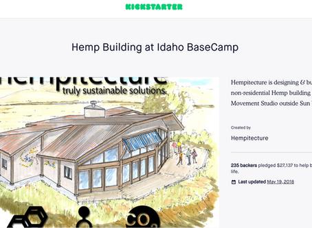 Hemp Building at Idaho BaseCamp