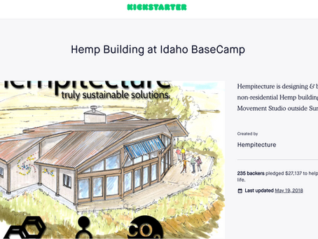 Hemp Building at Idaho BaseCamp