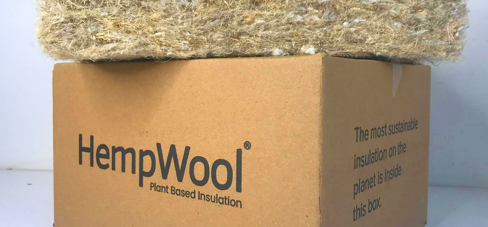 HempWool Insulation Sample