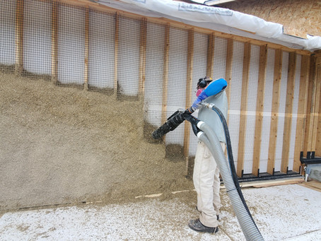 1st Hempcrete Build of 2020