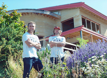 Hempitecture makes houses made of hemp