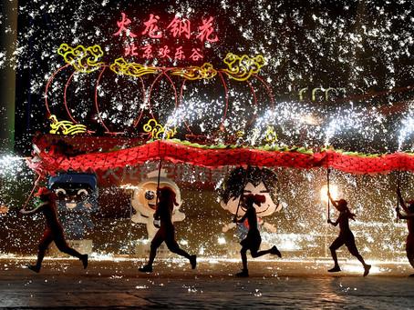 Já é ano novo na China!
