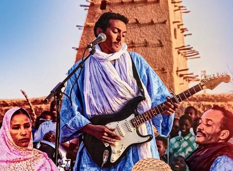 Blues do deserto e rock tuaregue.