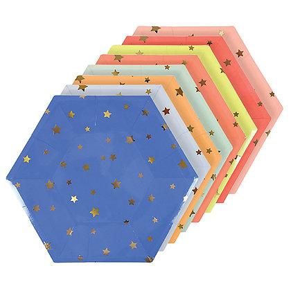 Estrellas Multicolor Grande