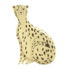 Safari Cheetah Plates