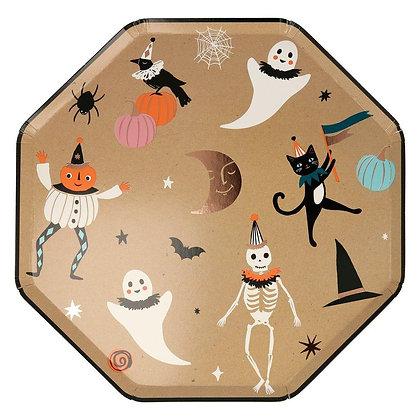 Vintage Halloween Dinner Plate