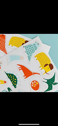 Stickers Comestibles Dinosaurio