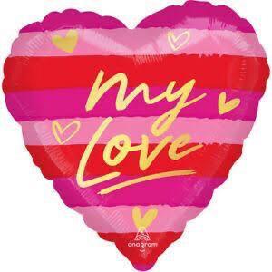 Globo Corazon My Love