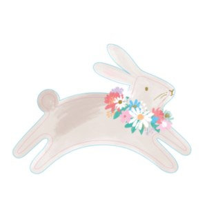 Leaping Bunny Plates