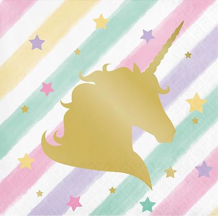Servilletas Unicorn
