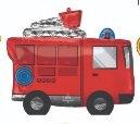 Globo Camion de Bomberos