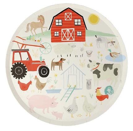 On The Farm Dinner Plates