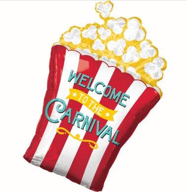 Globo Popcorn Carnival