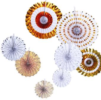 Pinwheels Foil Dorado