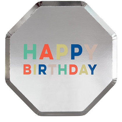 Birthday Palette Dinner Plate