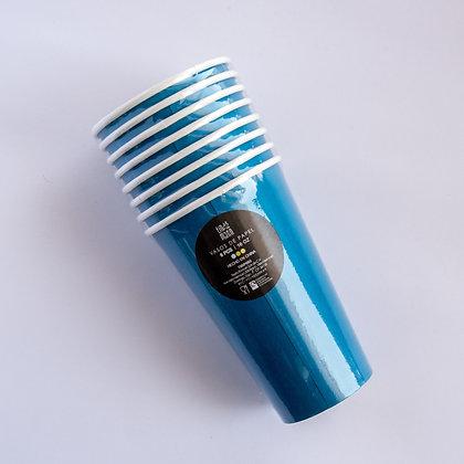 Vaso Azul Rey Carton