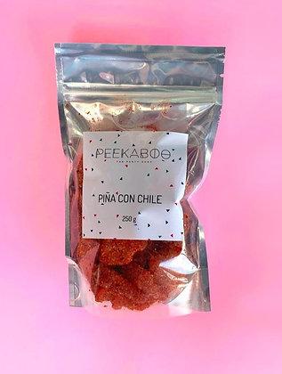 Gomitas de Piña con chile