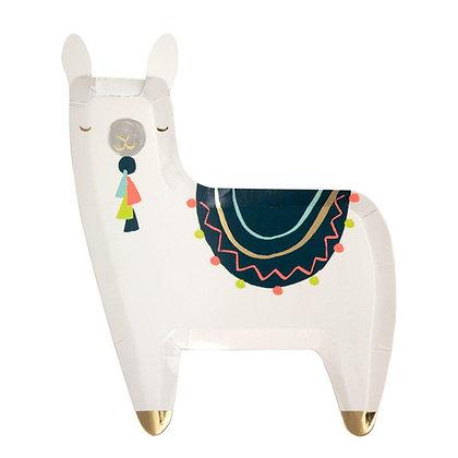 Llama Plate