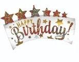 Globo Happy Birthday Star