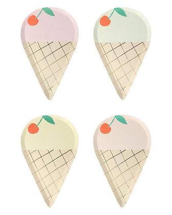 Platos ice cream