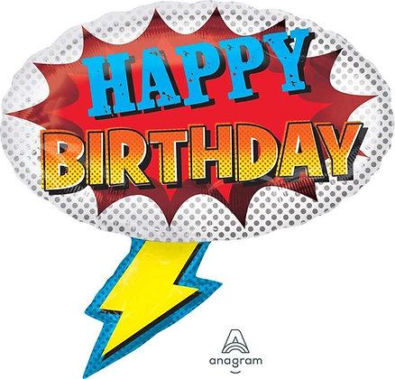 Globo de Happy Birthday