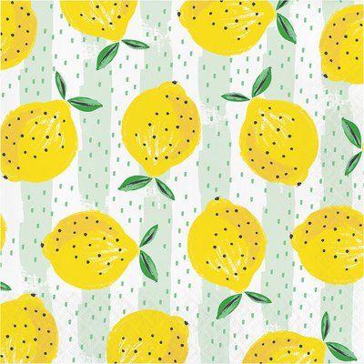 Servilleta Lemons