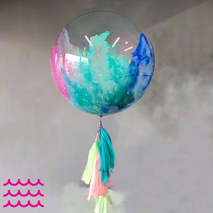 "Burbuja Transparente Med. 18"""
