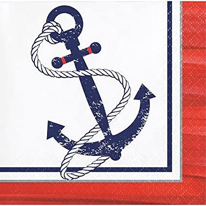 Servilletas Anchors Away