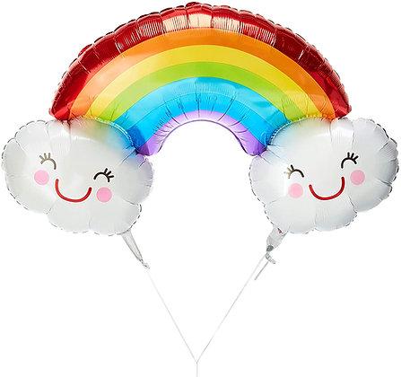 Globo de arcoiris