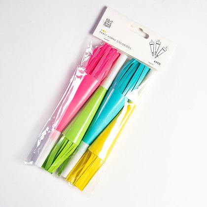 Partyhorns Colores