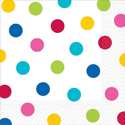 Servilleta Dots Rainbow