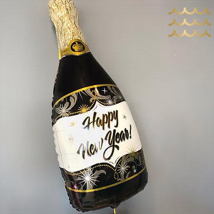 Happy New Year Bottle
