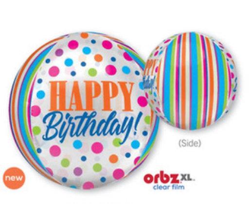 Esfera Happy Birthday