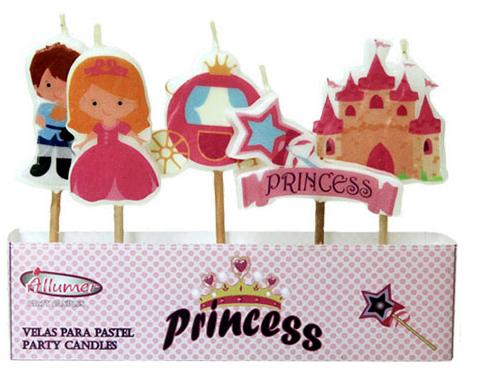 Velas Princesas