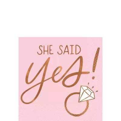 Servilleta She Said Yes
