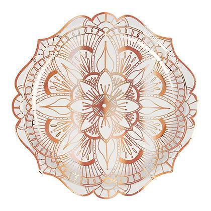 Plato Grande Mandala