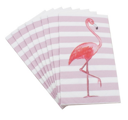 Servilleta Flamingo Larga