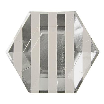 Silver Striped Grande