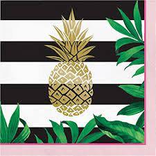 Servilleta Gold Pineapple