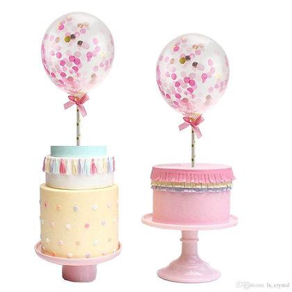 Cake topper globo