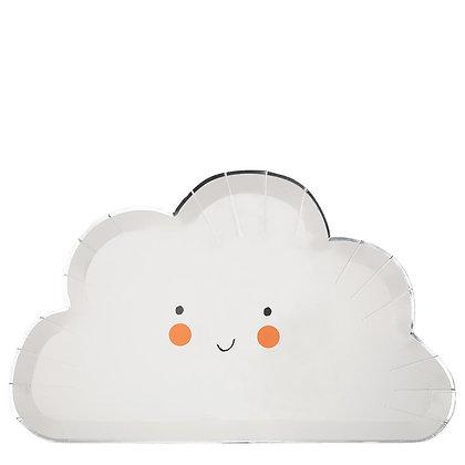 Happy Cloud Plate