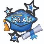 Globo Congrats Grad Colores