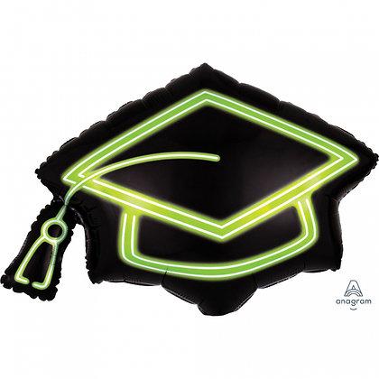 Globo de graduacion neon