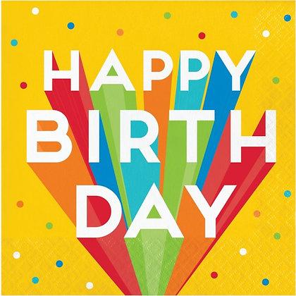 Servilleta Big Birthday Bash