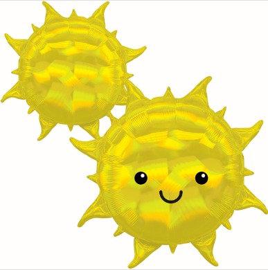 Iridescent Sun Balloon