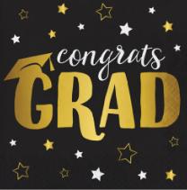 Servilleta Congrats Grad